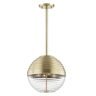 Maniscalco 4-Light Globe Pendant Finish: Aged Brass