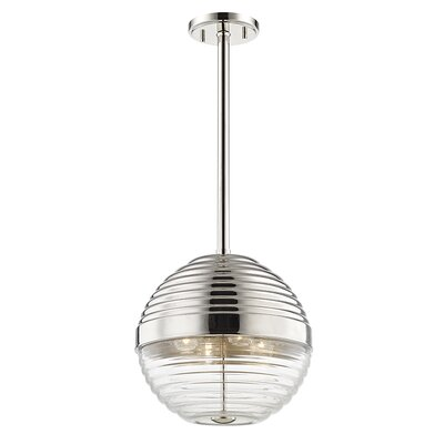 Maniscalco 4-Light Globe Pendant Finish: Polished Nickel