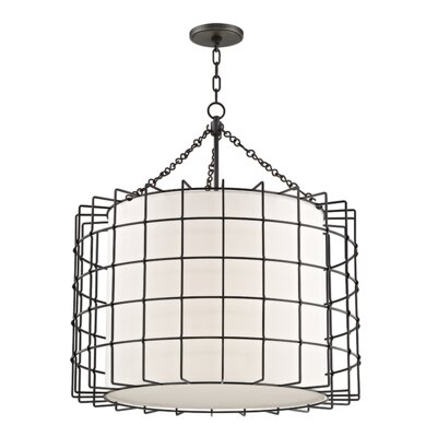Tahlequah 4-Light Drum Pendant Finish: Old Bronze