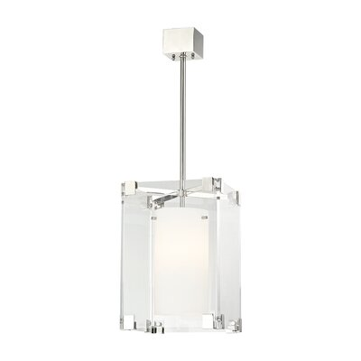 Tadley 1-Light Drum Pendant Finish: Polished Nickel