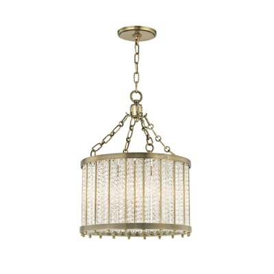 Legler 4-Light Crystal Pendant Finish: Aged Brass