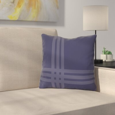 Billington Sand Outdoor Throw Pillow Color: Midnight
