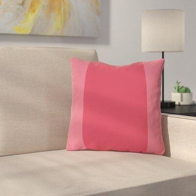 Nordman Dandelion Outdoor Throw Pillow Color: Rose