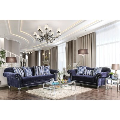 Lazo 2 Piece Living Room Set