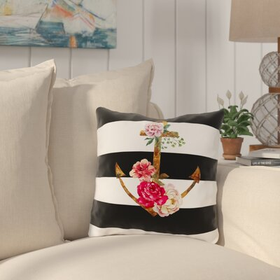 Ebling Outdoor Throw Pillow Size: 16 x 16