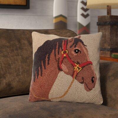 Rapier Horse Wool Throw Pillow
