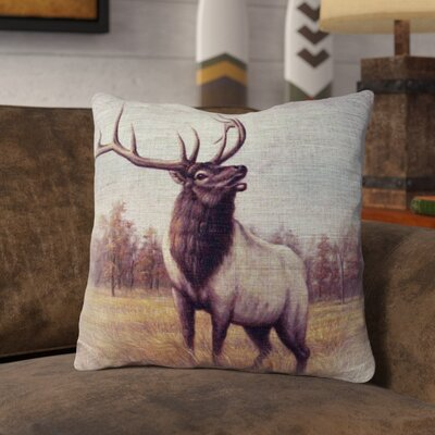 Privette Burlap Throw Pillow