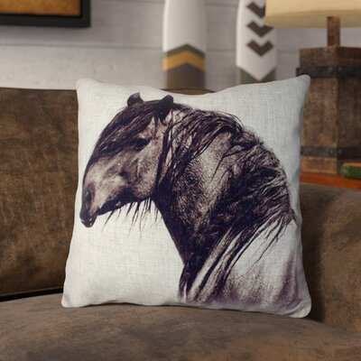 Lynde Burlap Throw Pillow