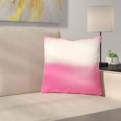 Petrone Watercolor Stripe Throw Pillow Size: 18 x 18