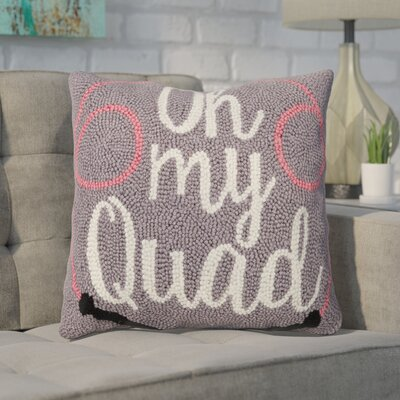 Dyess Oh My Quad Wool Throw Pillow