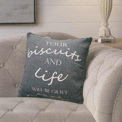 Weitzel Burlap Throw Pillow