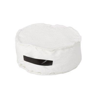 Blokker Pouf Upholstery: White