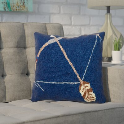 Duque Bow and Arrow Wool Throw Pillow