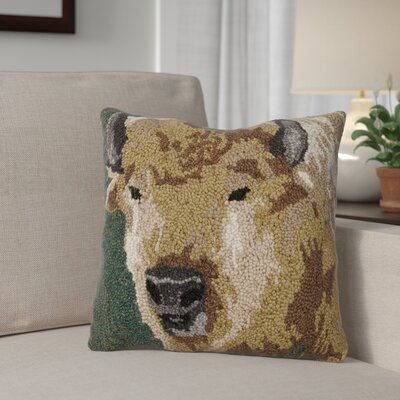 Rettig Buffalo Wool Throw Pillow