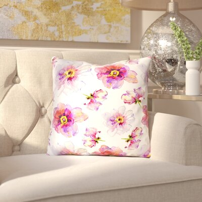Mehaffey Outdoor Throw Pillow Size: 16 x 16