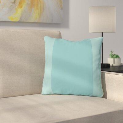 Nordman Dandelion Outdoor Throw Pillow Color: Sky Blue