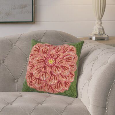 Ganey Zinnia Wool Throw Pillow