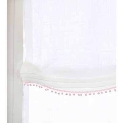 Room Linen Sheer Roman Shade Blind Size: 38 W x 64 L