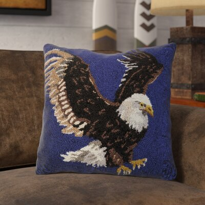 Rhone Bald Eagle Wool Throw Pillow
