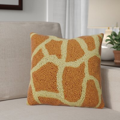 Palu Animal Print Wool Throw Pillow