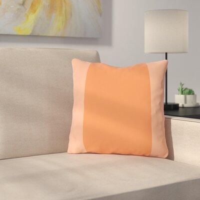 Nordman Dandelion Outdoor Throw Pillow Color: Tangerine