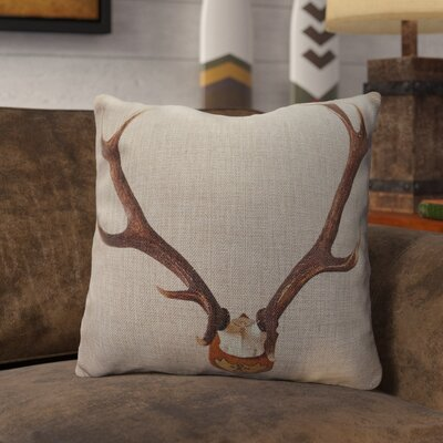Prichard Burlap Throw Pillow