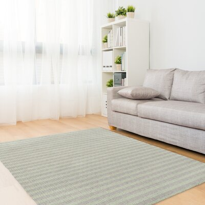 Heidelberg Green/Gray Area Rug Rug Size: Rectangle 2 x 3