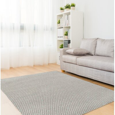 South Venice Mint Gray Area Rug Rug Size: Rectangle 5 x 7