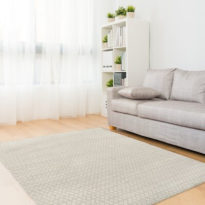 Lauritzen Gray Area Rug Rug Size: Rectangle 2 x 3