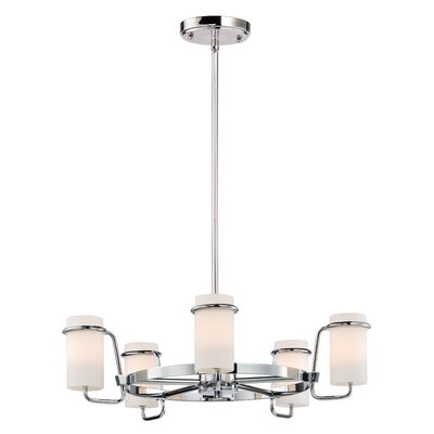 Gowins Single Tier 5-Light Candle-Style Chandelier