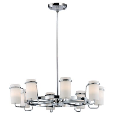 Gowins Single Tier 8-Light Candle-Style Chandelier