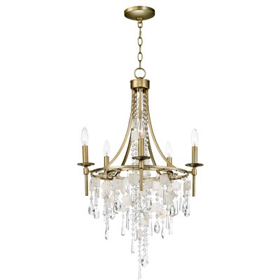 Pinheiro 5-Light Candle-Style Chandelier