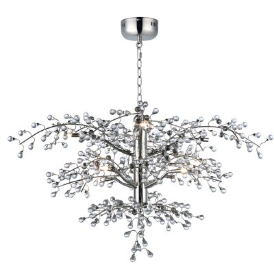 Paignton 8-Light Crystal Chandelier