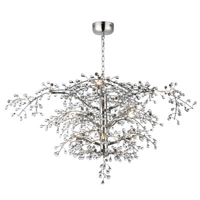Palmerston 12-Light Crystal Chandelier