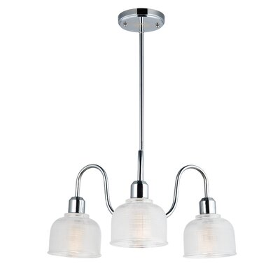 Huneycutt Single Tier 3-Light Chandelier