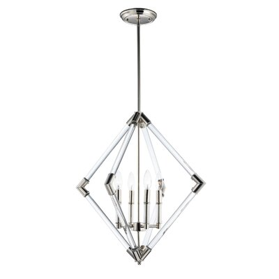 Hertel 4-Light Foyer Pendant