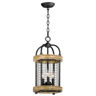 Haffey 3-Light Foyer Pendant