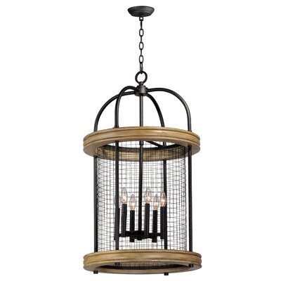 Haffey 6-Light Foyer Pendant
