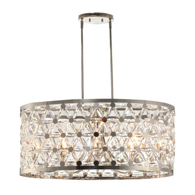 Scheele 8-Light Drum Pendant