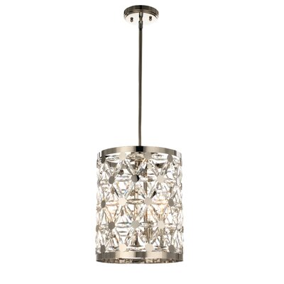 Scheele 3-Light Drum Pendant
