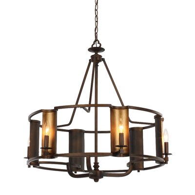 Rodrigue 6-Light Candle-Style Chandelier