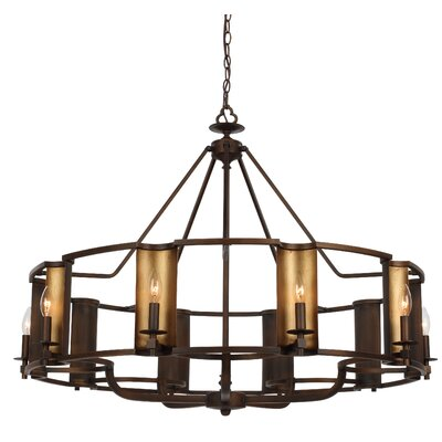 Rodrigues 10-Light Candle-Style Chandelier