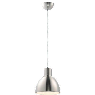 Claus 1-Light Mini Pendant Finish: Satin Nickel