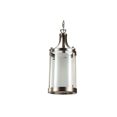 Matthies 2-Light Foyer Pendant Finish: Buffed Nickel
