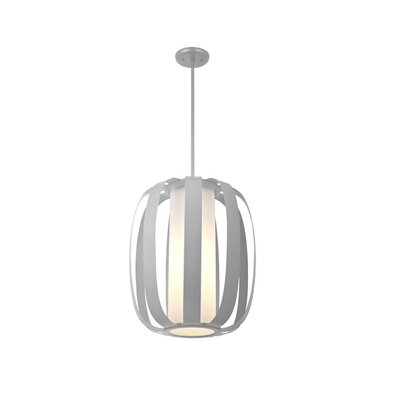 Mattia 3-Light Foyer Pendant Finish: Buffed Nickel