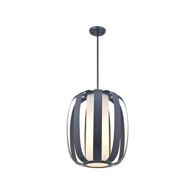 Mattia 3-Light Foyer Pendant Finish: Graphite
