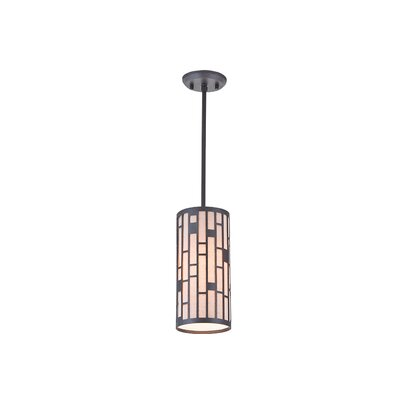 Stickles 1-Light Mini Pendant Finish: Forged Iron