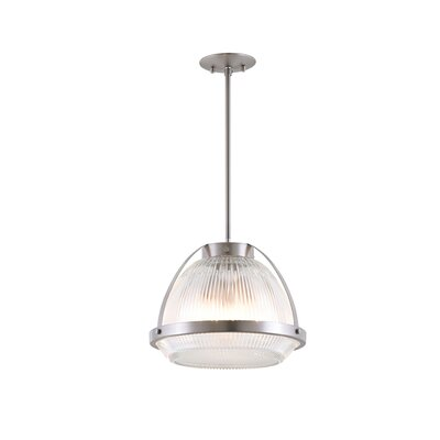 Fieldston 3-Light Inverted Pendant Finish: Buffed Nickel