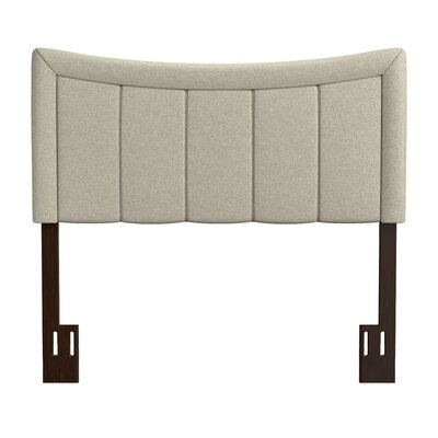Ware Upholstered Panel Headboard Upholstery: Barley Tan, Size: King/California King