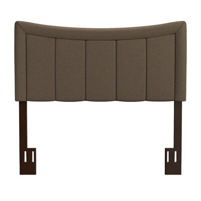 Ware Upholstered Panel Headboard Upholstery: Brown, Size: King/California King